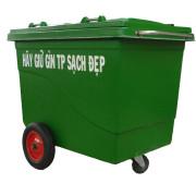 Thùng rác 660 Lít Botech Composite  FTR019