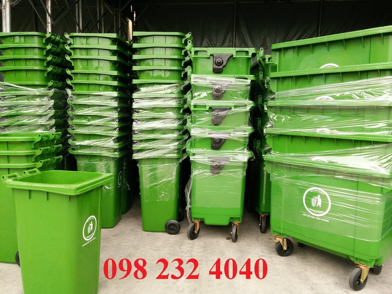 Thùng rác công nghiệp - Thùng rác nhựa công nghiệp chất lượng tốt. Báo giá thùng rác công nghiệp rẻ nhất tại Huế, Đà Nẵng, tphcm