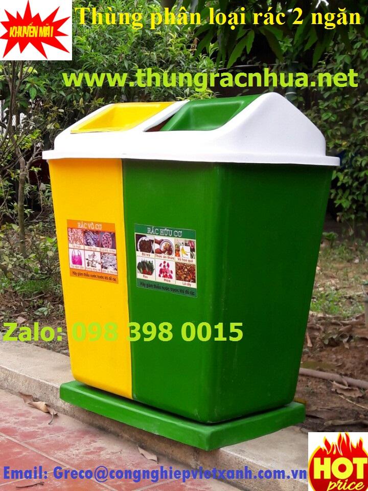 Thung phan loai rac