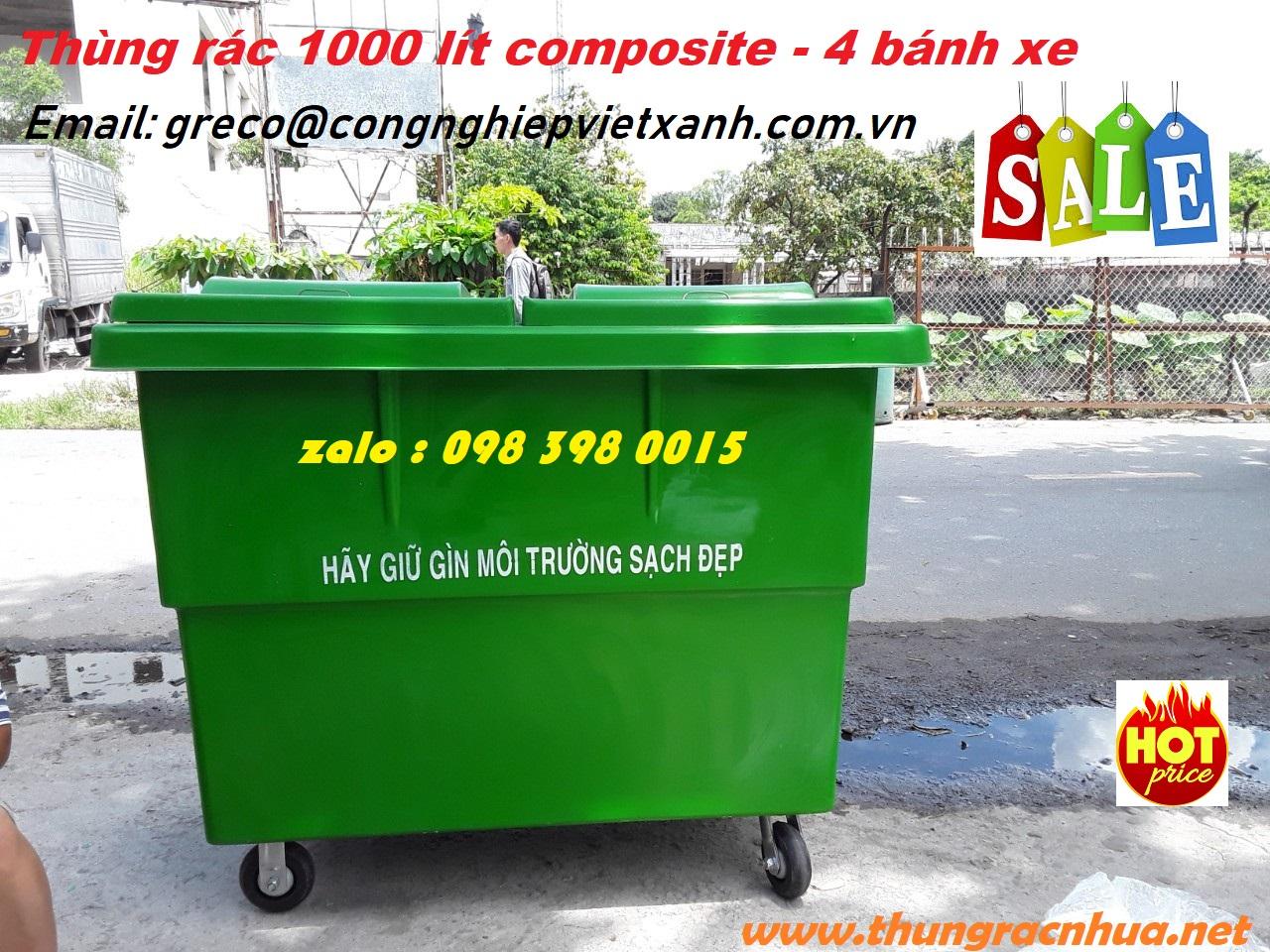 thung rac 1000 lit